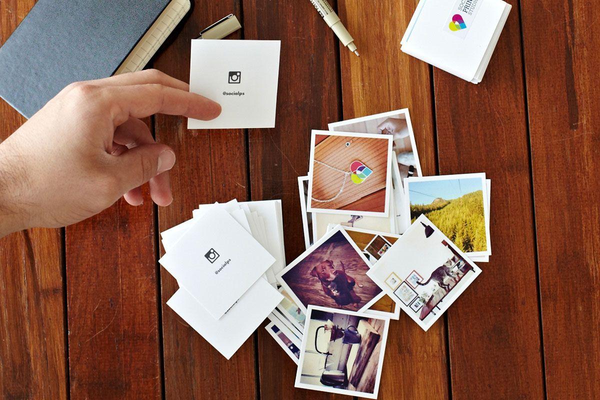 Contact Cards | Social Print Studio