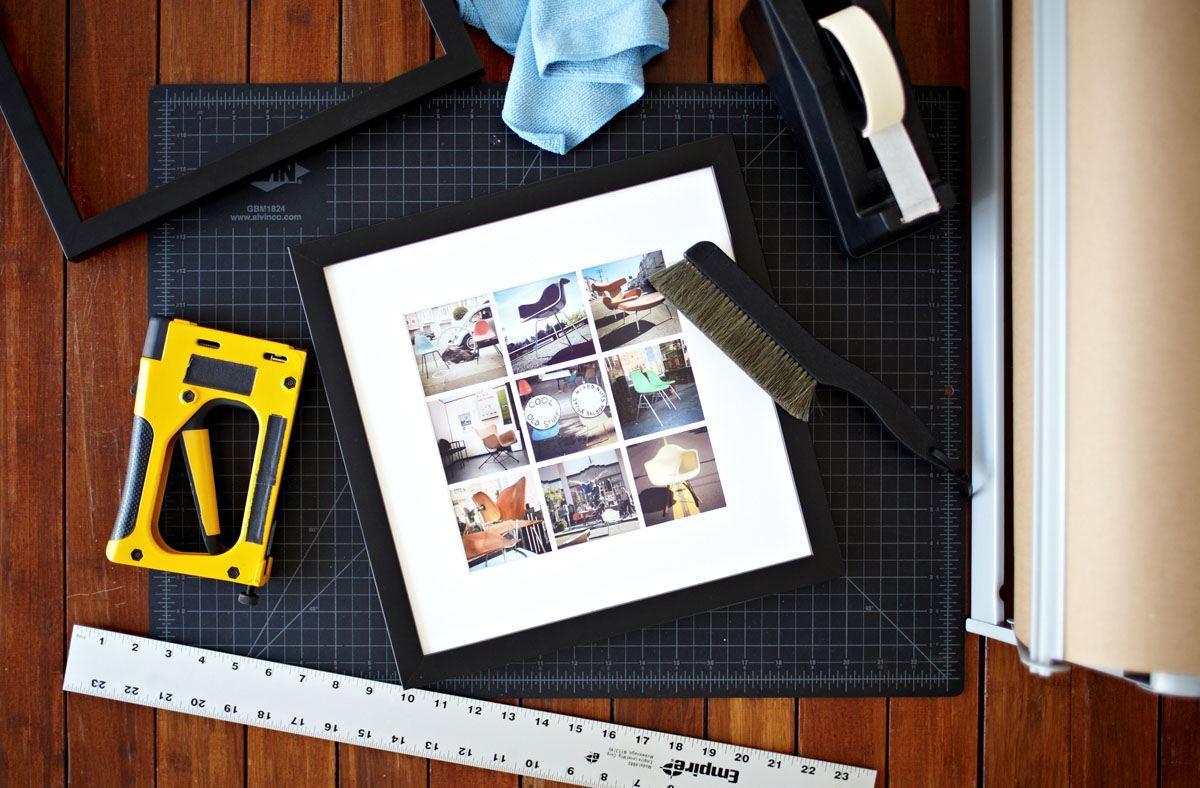 Grid Frame Social Print Studio