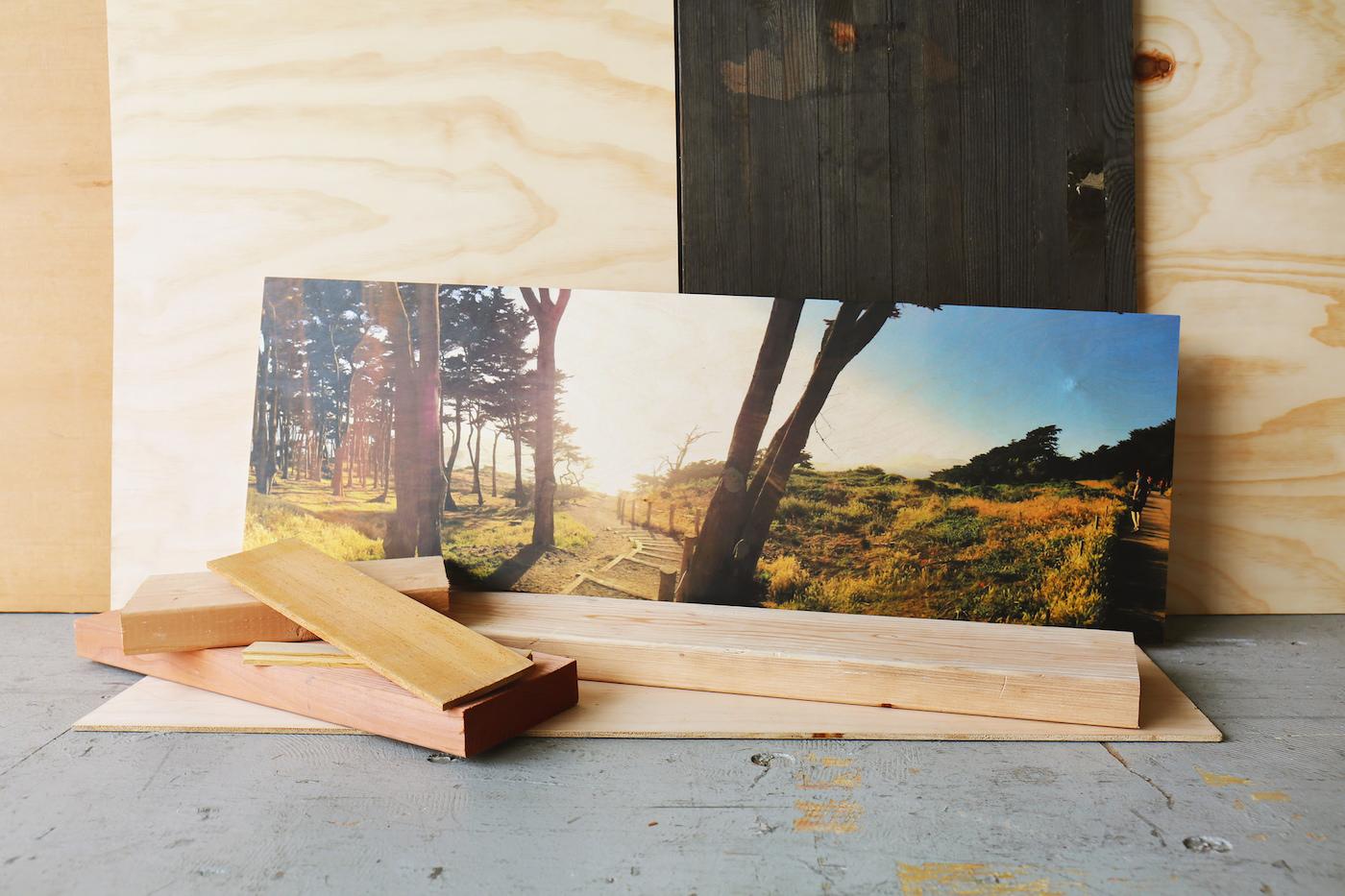 wood panoramic print social print studio