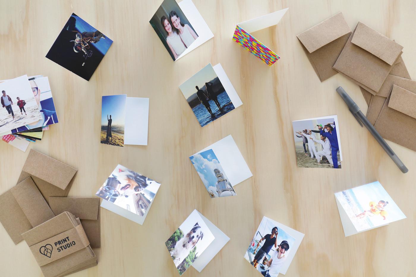 Tiny Greeting Cards Social Print Studio