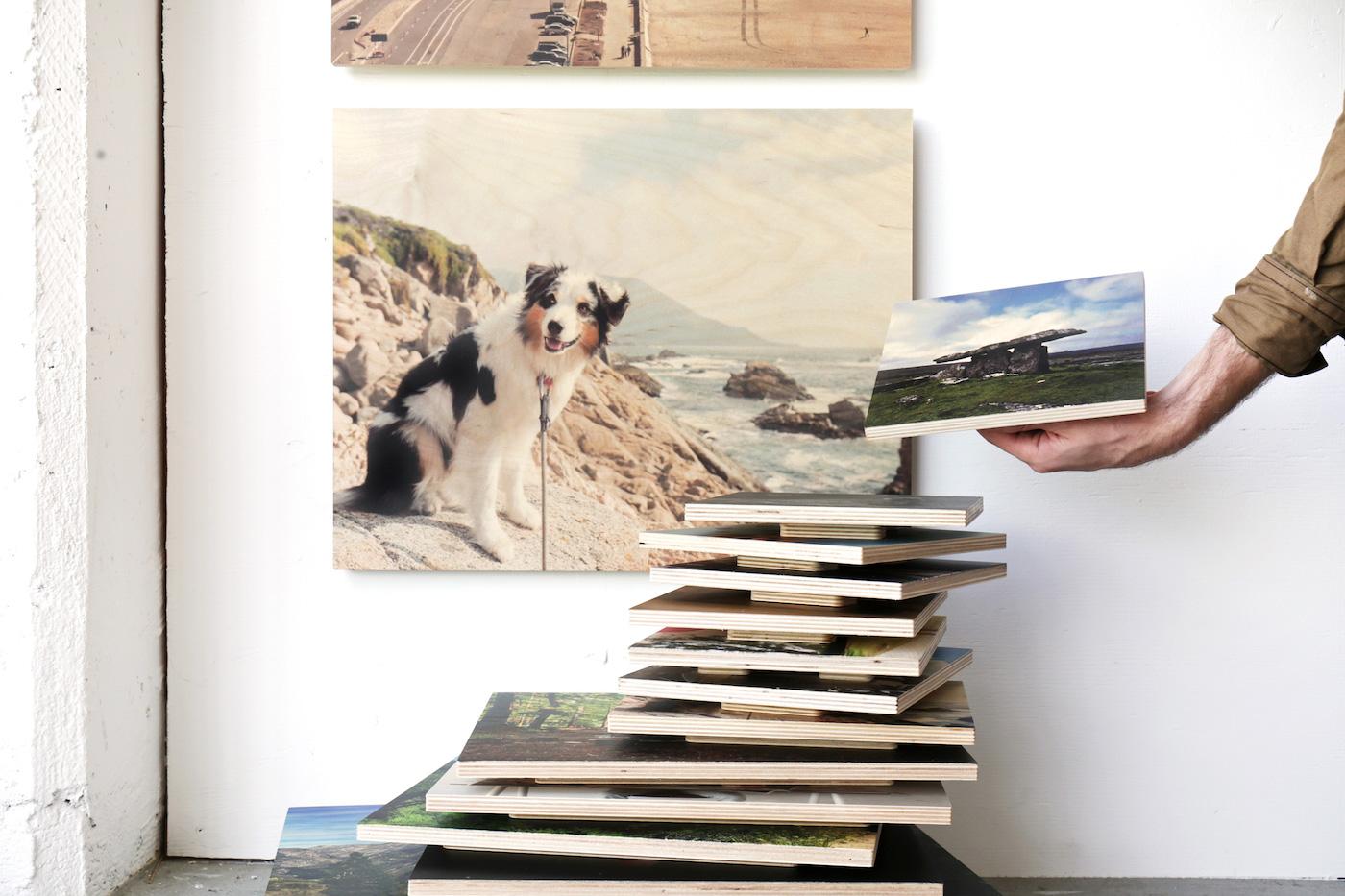 wood prints print photos on wood social print studio